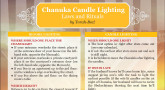 Chanuka Candle Lighting
