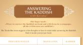 Answering The Kaddish