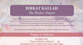 Birkat Kallah - The Bride's Prayer - Printable Guide