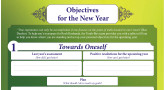 Objectives for The New Year